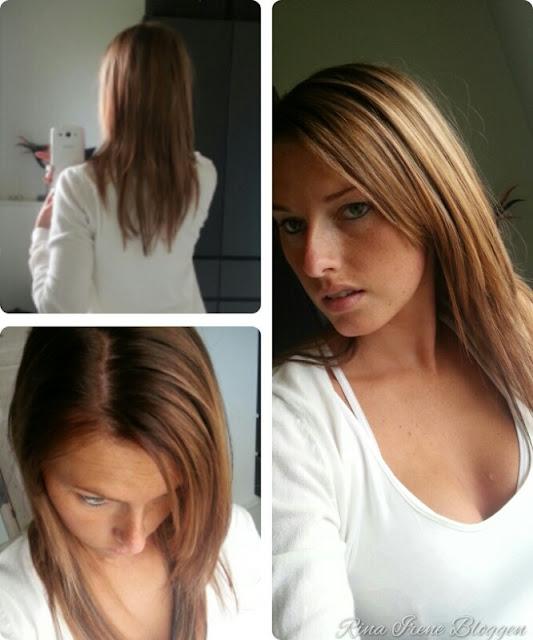 farve mørkt hår lysere